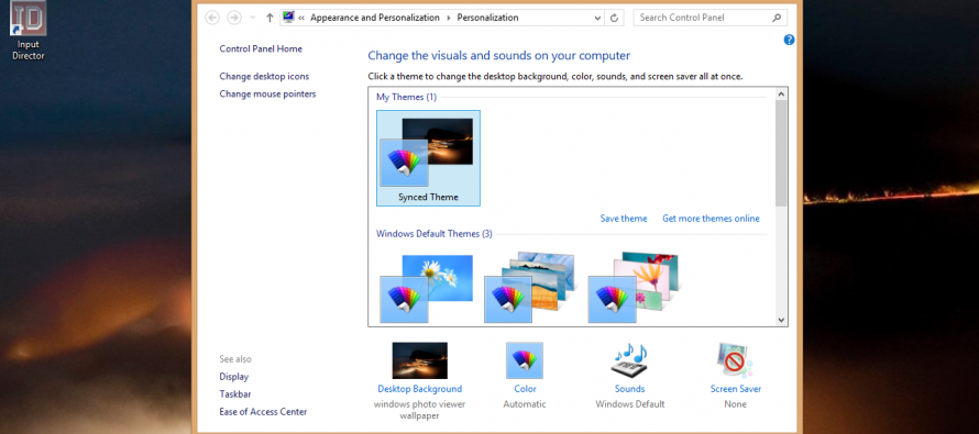 A Quick Glance at Windows 8