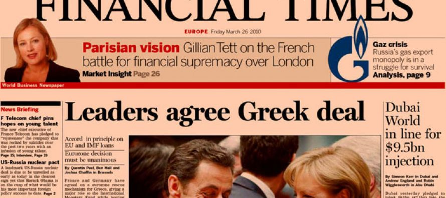 Financial Times – My Favourite English Language Newspaper for Travels Abroad and World News