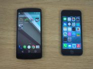 Android L vs iOS 8