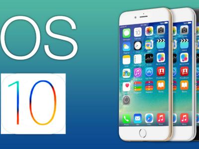 Apple's new iOS 10 update