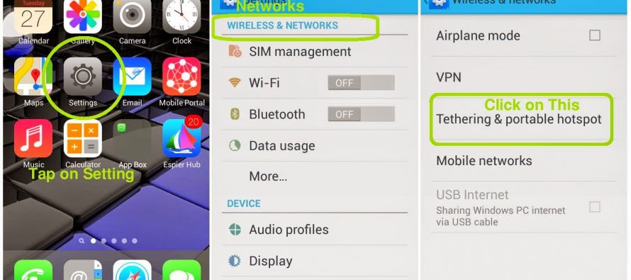 How to use your Android, iOS, or Windows 10 smartphone as a Wi-Fi hotspot