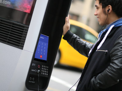 New York public kiosks offering web browsing are being used for porn