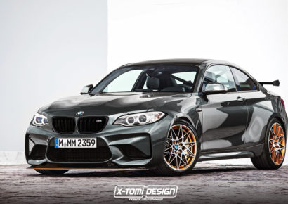 BMW'S NEW M2 400HP CS GETS UNVEILED, IS PRACTICALLY AN M3