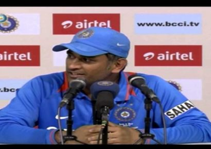 """""""I never talked to my parents about cricket"""" Dhoni speaks"""