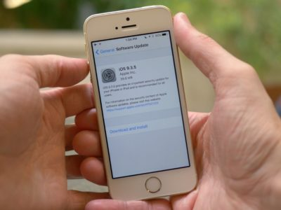 Apple iOS 9.3.5: Should You Upgrade?