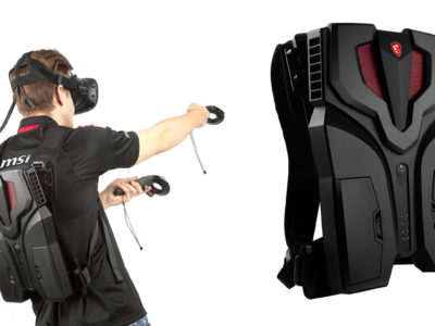 MSI says its VR backpack computer is the lightest yet