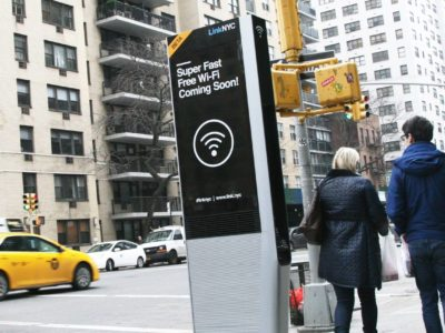 Free Wi-Fi Were to Aid  Kiosks New Yorkers