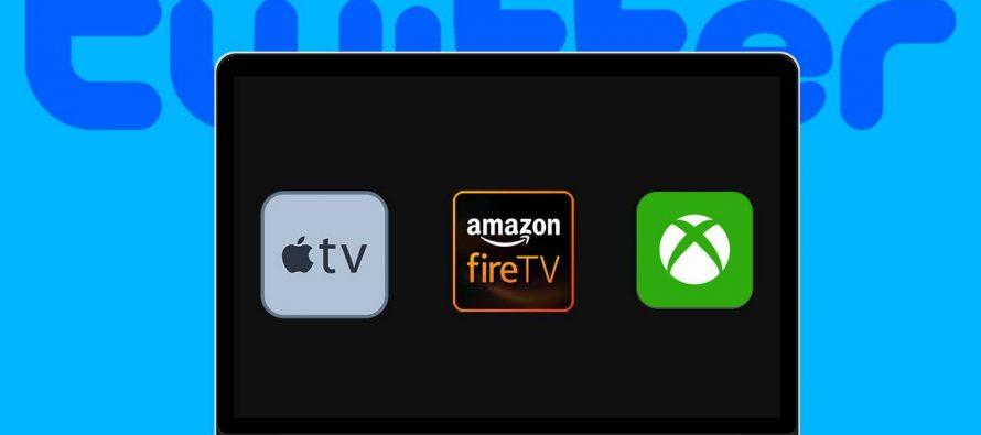 Twitter Launches Apple TV App