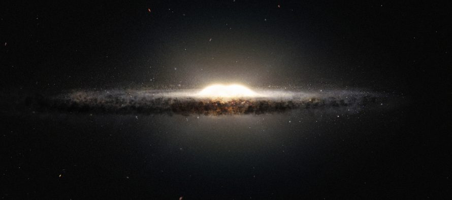 Caltech Designs A Computer Simulation Of The Milky Way Galaxy
