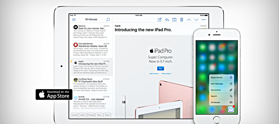 Airmail For IPhone Gets A Bunch Of IOS 10 Integration Features