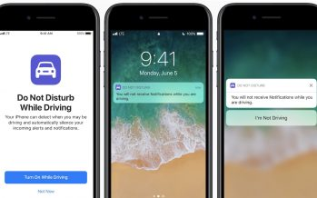 iPhone to block notifications at the same time as driving in new iOS 11