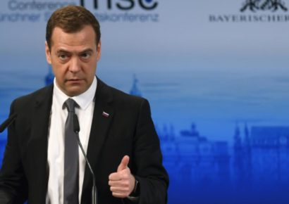 US sanctions are 'exchange conflict' in Russia, says PM Medvedev