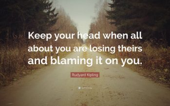 Keep Your Cool When Others Are Losing Theirs