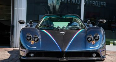 Hanging Pagani Zonda Supercar in Living Room is Basically Mona Lisa of Automobiles