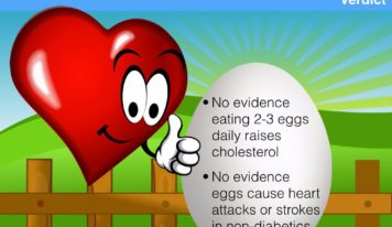 Eggs Not Harmful for Heart Health