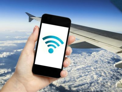 How to test FB or call whilst flying? In-flight net era explained