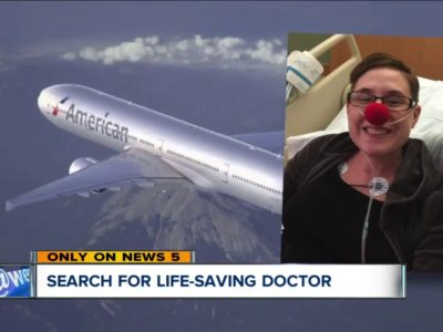 Cleveland Clinic fellow and NC medical doctor store lady's existence on aircraft after hypersensitive reaction