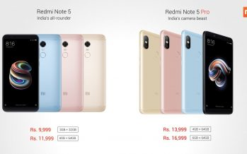 Realme 1 With Up to 6GB RAM Launched in India to Take on Redmi Note 5