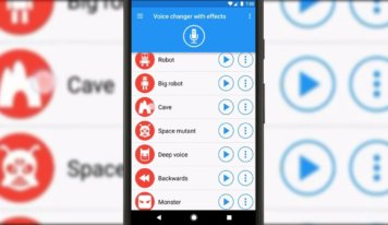 A Voice Changer With Effects Apk