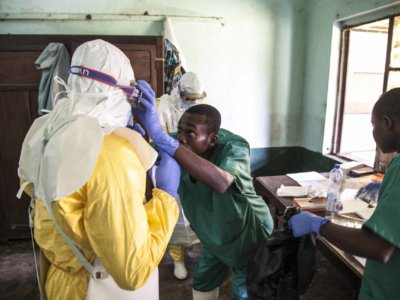 WHO raises Ebola health risk to 'very high' in DR Congo